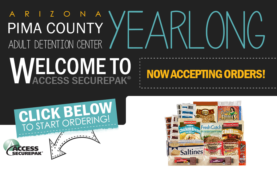 Access Securepak - Pima County Adult Detention Center - AZ - Welcome