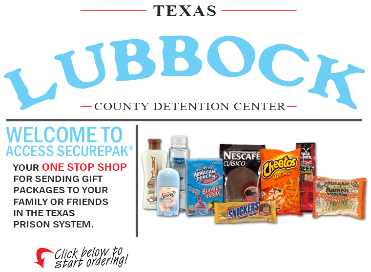 Access Securepak Lubbock County Jail Tx Welcome