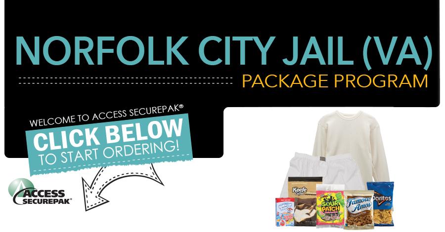vajailpackages com Access Securepak - Norfolk City Jail Package Program - VA - Welcome