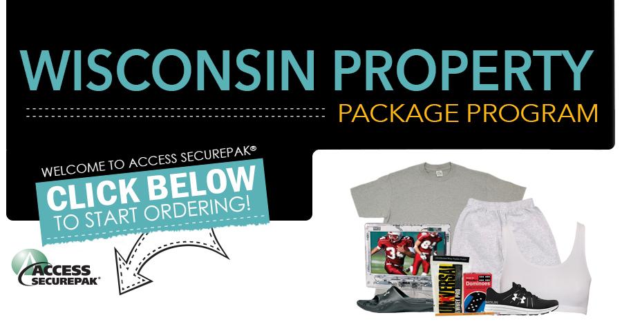 wiinmatepackage com Access Securepak - Wisconsin DOC Property Package Program - Welcome